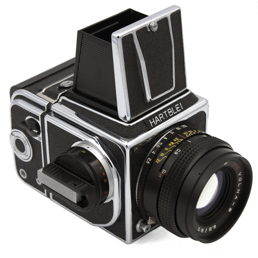 HARTBLEI 1008 (chrome) camera WLF - front