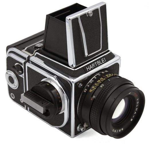 HARTBLEI 1008M (chrome) camera WLF - front