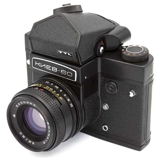 Kiev 60 Master camera kit w/ Mirror Lock-Up
