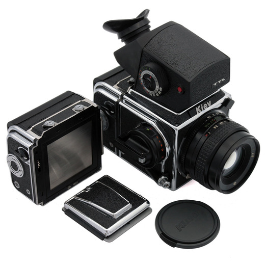 Kiev 88CM (chrome) camera kit