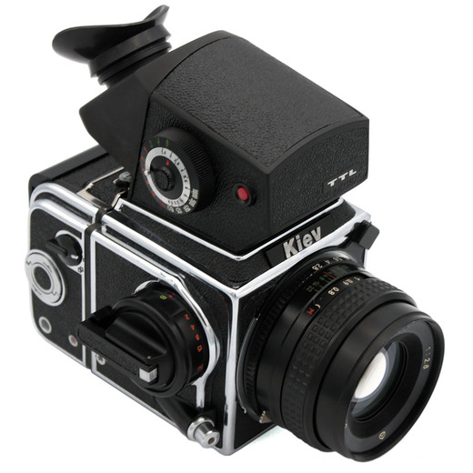 Kiev 88CM (chrome) camera TTL - front