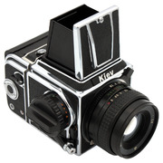 Kiev 88CM MLU (chrome) camera w/ WLF